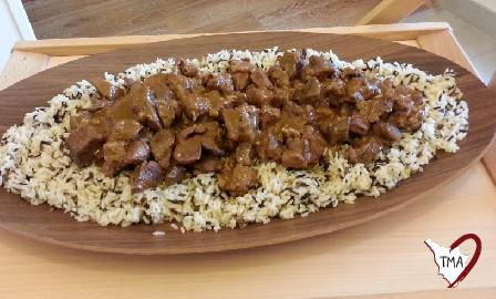 Vindaloo di maiale con riso long and wilde